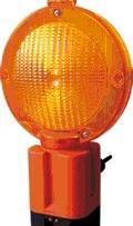 lampa cu lumina galbena intermitenta1